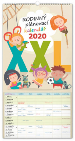 Nástěnný kalendář Rodinný plánovací XXL 2020