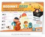 Týdenní rodinný plánovací kalendář 2020