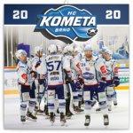Poznámkový kalendář HC Kometa Brno 2020