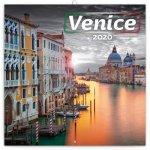 Poznámkový kalendář Benátky 2020