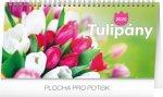 Tulipány řádkový 2020 - stolní kalendář 2020