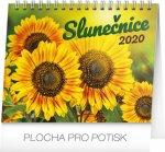 Slunečnice s citáty - stolní kalendář 2020