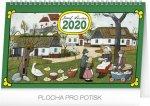Josef Lada Tradice - stolní kalendář 2020