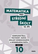 Matematika pro střední školy 10. díl Učebnice