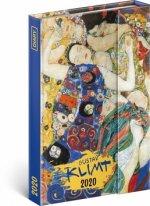 Týdenní magnetický diář Gustav Klimt 2020