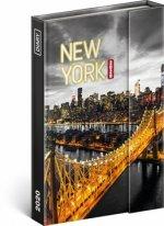 Týdenní magnetický diář New York 2020