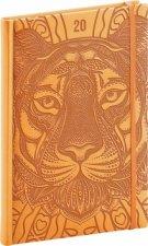Týdenní diář Vivella Speciál 2020 tygr