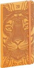 Kapesní diář Vivella Speciál 2020 tygr