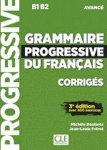 Grammaire progressive du français. Niveau avancé - 3?me édition. Lösungsheft