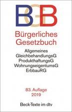 Bürgerliches Gesetzbuch BGB: mit Allgemeinem Gleichbehandlungsgesetz