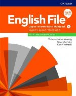 English File Upper Intermediate Multipack A with Student Resource Centre Pack (4th)