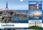 Leuchttürme - Maritime Leuchtfeuer an den Küsten (Wandkalender 2020 DIN A4 quer)