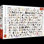 Puzzle 208 kotów 1000