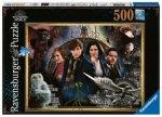 Puzzle 500 Harry Potter Fantastyczne zwierzęta