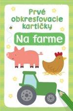 Prvé obkresľovacie kartičky Na farme