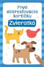 Prvé obkresľovacíie kartičky Zvieratká