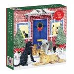 Christmas Cottage Square Boxed 1000 Piece Puzzle