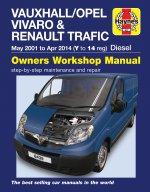 Vauxhall/Opel Vivaro & Renault Trafic Diesel (May '01 to Apr '14 (Y to 14 reg)