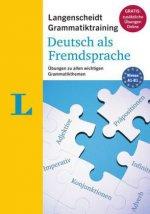 Langenscheidt Grammatiktraining Deutsch als Fremdsprache - Buch mit Online-Übungen