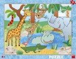 Puzzle deskové Zvířátka v ZOO