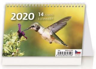 MINI 14denní kalendář - stolní kalendář 2020
