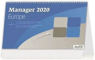 Manager Europe - stolní kalendář 2020