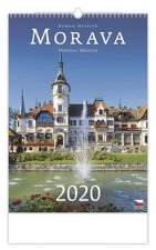 Morava/Moravia/Mahren - nástěnný kalendář 2020