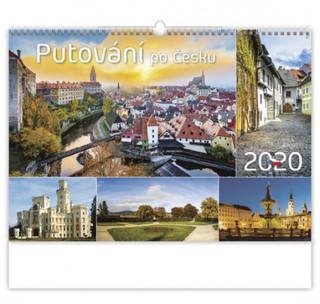 Putování po Česku - nástěnný kalendář 2020