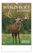 Myslivecký kalendář - nástěnný kalendář 2020
