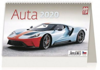 Auta - stolní kalendář 2020