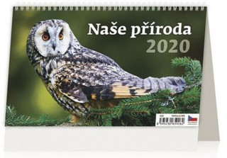 Naše příroda - stolní kalendář 2020