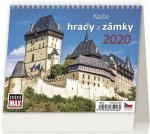 MiniMax Naše hrady a zámky - stolní kalendář 2020