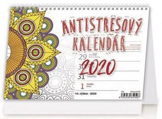 Antistresový pracovní - stolní kalendář 2020