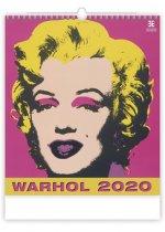 Andy Warhol - nástěnný kalendář 2020