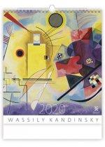 Wassily Kandinsky - nástěnný kalendář 2020