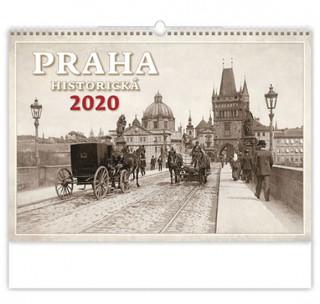 Praha historická - nástěnný kalendář 2020