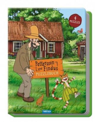 Trötsch Pettersson und Findus Puzzlebuch
