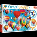 Puzzle Crazy shapes Kolorowe balony 600