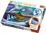 Puzzle Crazy Shapes! 600 Zorza nad Islandią