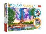 Puzzle Crazy shapes Niebo nad Paryżem 600