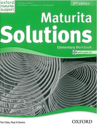 Maturita Solutions 2nd Edition Elementary Workbook Czech Edition