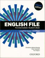 English File Third Edition Pre-intermediate Student's Book (without CD)