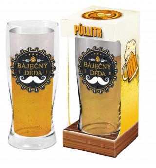 Půllitr Děda - Máme rádi pivo