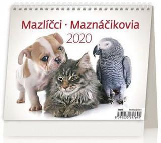 Minimax Mazlíčci/Maznáčikovia - stolní kalendář 2020