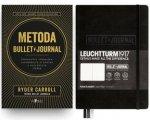 Výhodný balíček: Metoda Bullet Journal + zápisník Leuchtturm1917 ČERNÝ