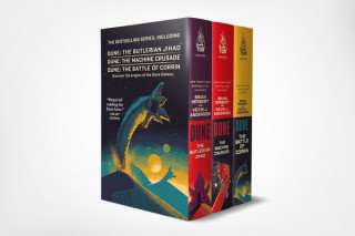 Legends of Dune Mass Market Paperback Boxed Set: The Butlerian Jihad, the Machine Crusade, the Battle of Corrin
