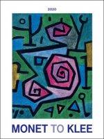 Monet to Klee  2020 - nástěnný kalendář