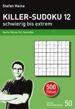 Killer-Sudoku 12 - schwierig bis extrem