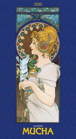 Alfons Mucha 2020 - nástěnný kalendář