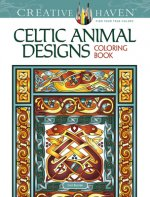 Creative Haven Celtic Animal Designs Coloring Book